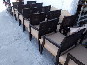 ทำสีเปลี่ยนหนังเก้าอี้
